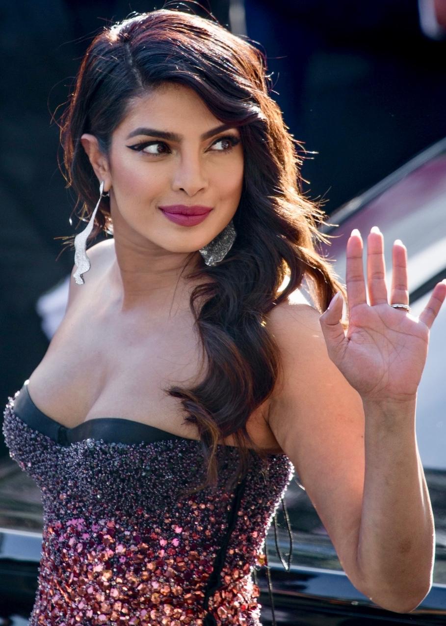 الممثلة بريانكا تشوبرا جوناس.